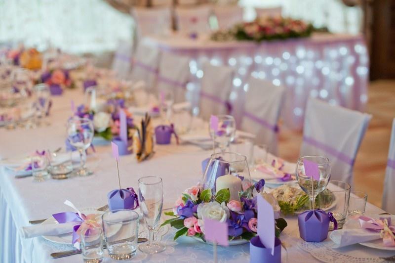 Украшение свадебного зала стола своими руками